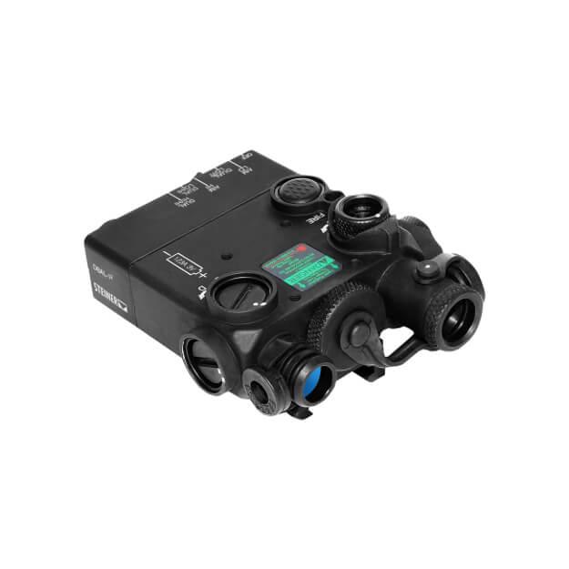 Steiner DBAL-I2 Dual Beam Aiming Green Laser Intelligent - Black