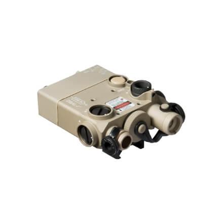 Steiner DBAL-I2 Dual Beam Aiming Green Laser Intelligent - Desert Tan
