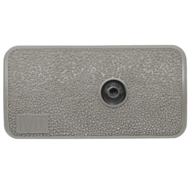 Midwest Industries 3 Slot KeyMod Panel - Stealth Grey