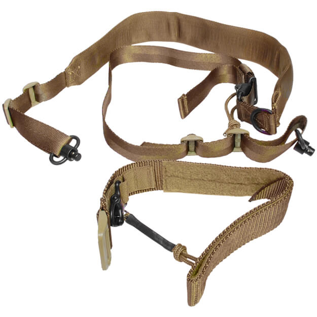 Viking Tactics MK2 Sniper Sling with Cuff - Coyote Brown