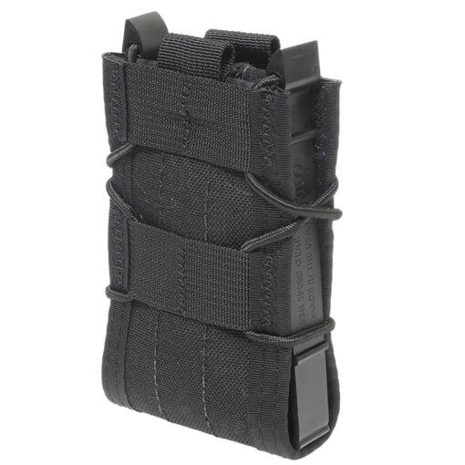 High Speed Gear Belt Mounted Rifle Taco - Black