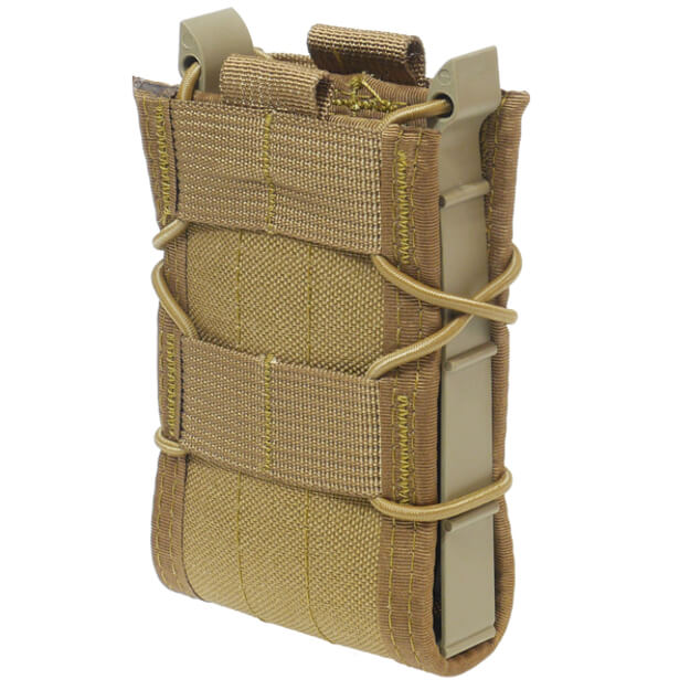 High Speed Gear Belt Mounted Rifle Taco - Coyote Brown