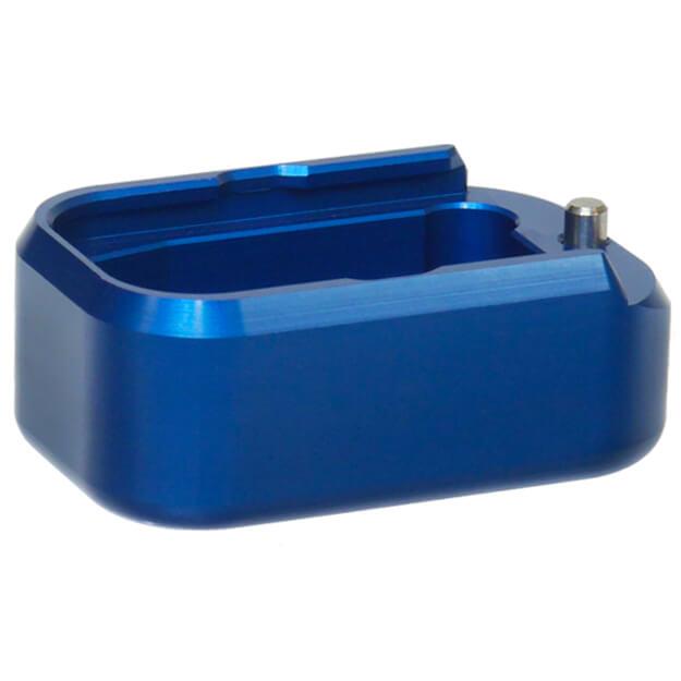Taran Tactical Glock +3/+4 Base Pad - Bright Blue