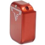 Taran Tactical Glock +3/+4 Base Pad - Bright Red