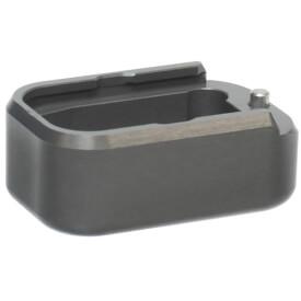 Taran Tactical Glock +3/+4 Base Pad - Titanium Grey