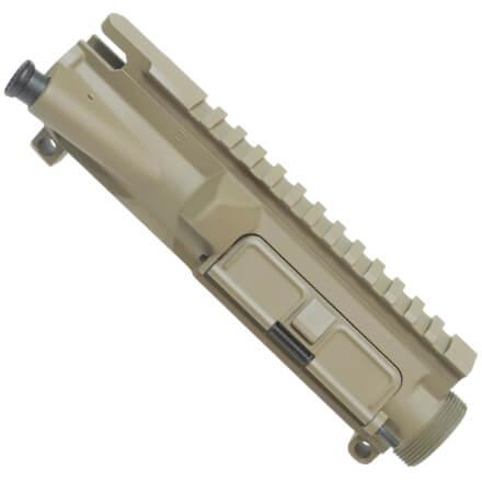 DSG AR15 Upper Receiver Includes Forward Assist - Flat Dark Earth w/ Matching Port Door
