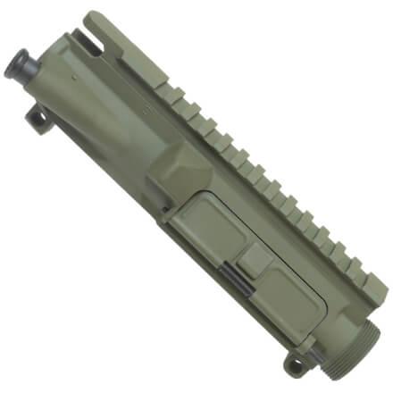 DSG AR15 Upper Receiver Includes Forward Assist - Olive Drab w/ Matching Port Door