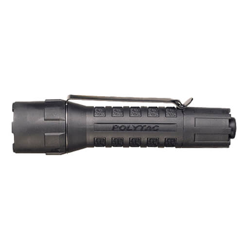 Streamlight PolyTac w/ Lithium Batteries Clam Packaged - Black