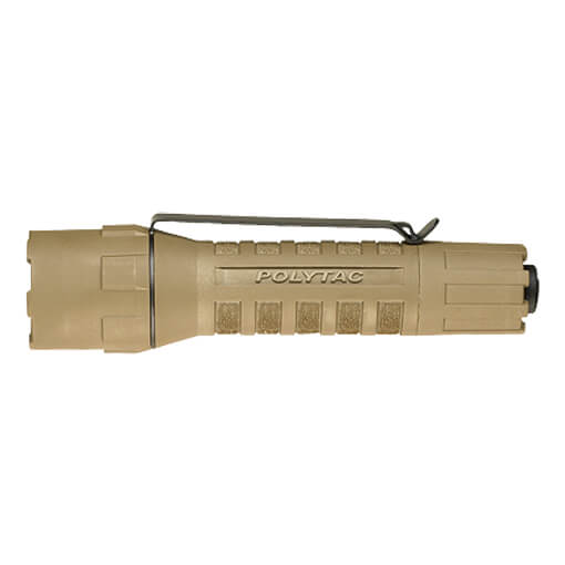 Streamlight PolyTac w/ Lithium Batteries Clam Packaged - Coyote