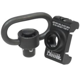 Daniel Defense Rail Mounted Push Button QD Swivel Attachment Point w/ Swivel