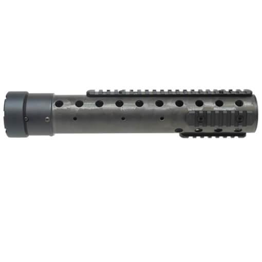 "PRI Gen3 12.5"" Round Carbon Fiber Free Float Rifle Length Forearm - Natural"