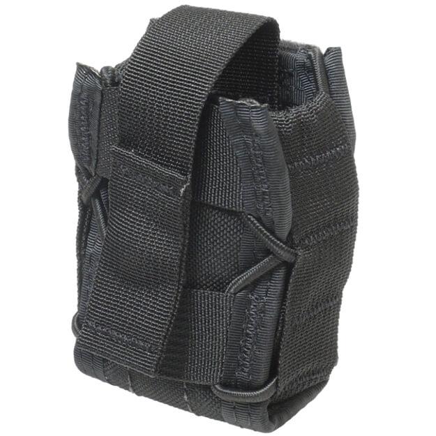 High Speed Gear Belt Mounted Handcuff Taco - Black