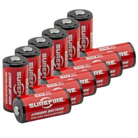Surefire CR123A Lithium Batteries - 12 Pack