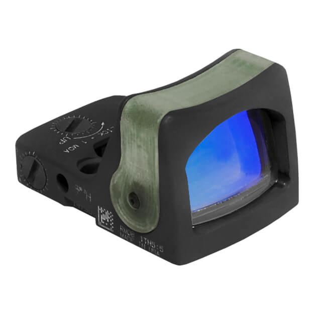 Trijicon RM08G RMR Dual Illuminated Sight - 12.9 MOA Green Triangle