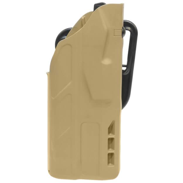 Safariland 7377 7TS ALS Lv II Concealment Holster - Tan Glock 19 w/Light - Right Hand