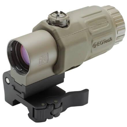 EOTech G33.STS Gen III 3X Magnifier w/ Switch To Side Mount - Tan