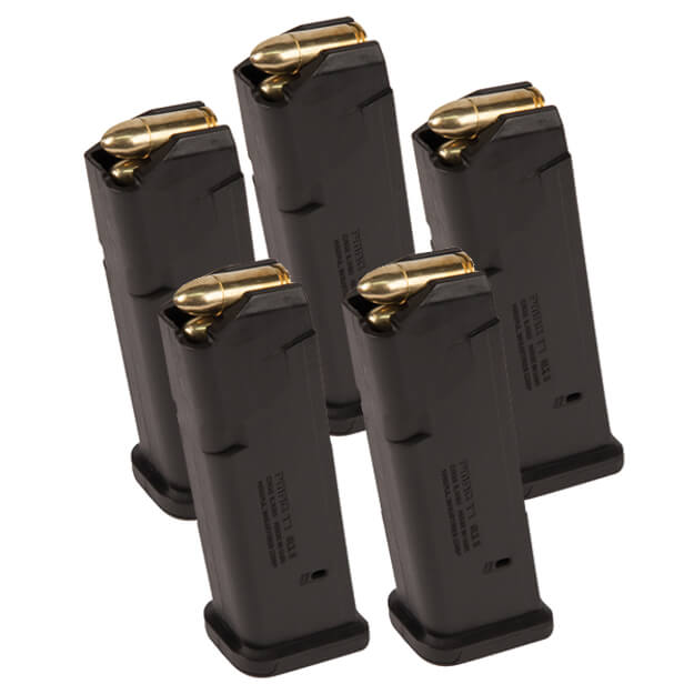 MAGPUL PMAG 9MM Glock 17 Magazine - 5 Pack