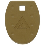 Vickers Tactical M&P Magazine Floor Plate 5 Pack - Dark Earth