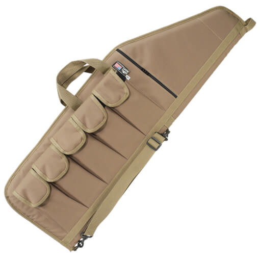 """American Mountain Supply 36"""" Tactical Weapon Case - Tan - Made in USA"""