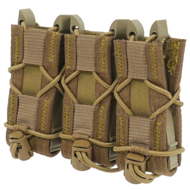 High Speed Gear Triple Pistol Taco - Coyote Brown