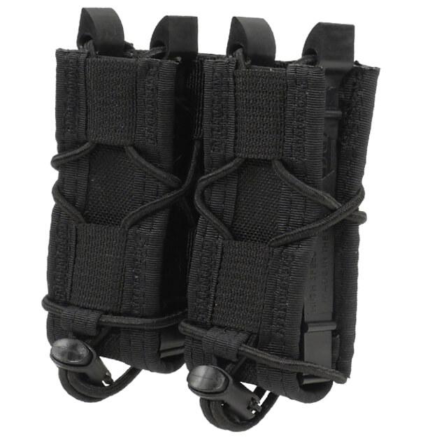 High Speed Gear Belt Mounted Double Pistol Taco - Black