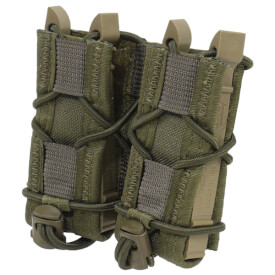 High Speed Gear Belt Mounted Double Pistol Taco - Olive Drab Green