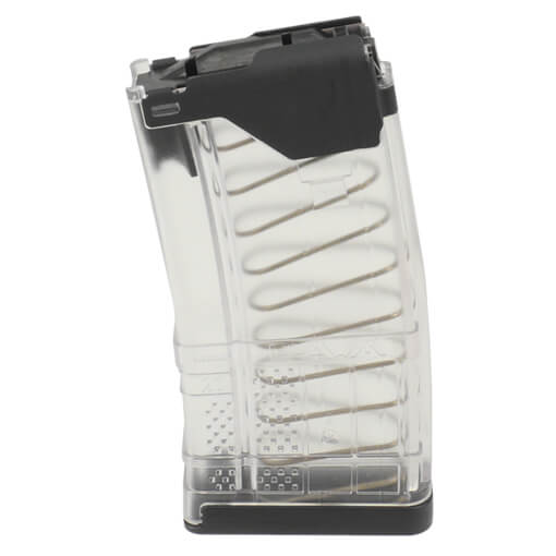 Lancer L5AWM 5.56mm 20rd Mag Translucent - Clear