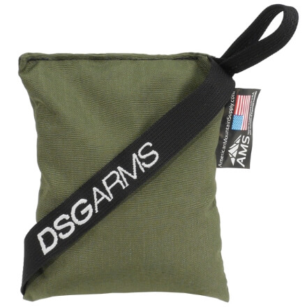 American Mountain Supply Rear Sniper Bag - Olive Drab Green