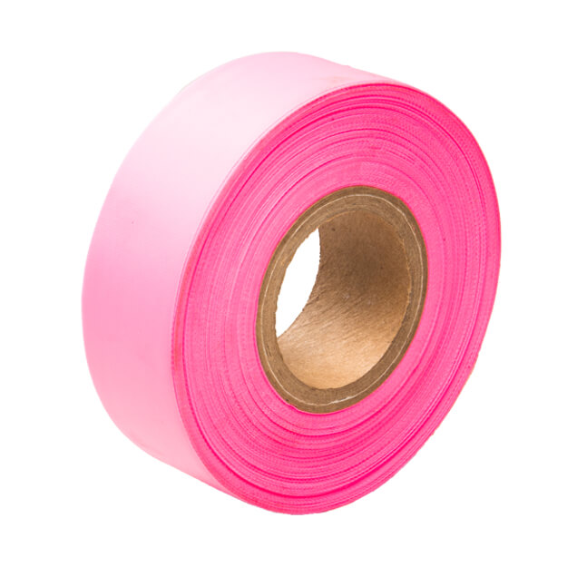 Aervoe Fluorescent Flagging Tape - Pink