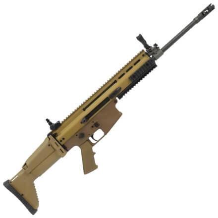 """FN SCAR 17s 7.62mm Rifle w/ 16"""" Barrel - Dark Earth"""