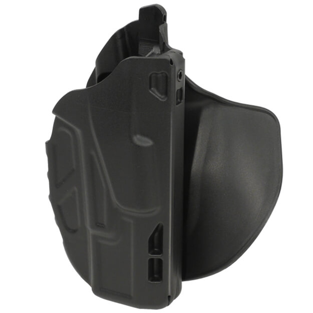 Safariland 7378 7TS ALS Lv II Concealment Paddle Holster - Black Glock 19 - Right Hand