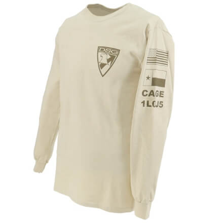 DSG Arms Long Sleeve Badge T-Shirt