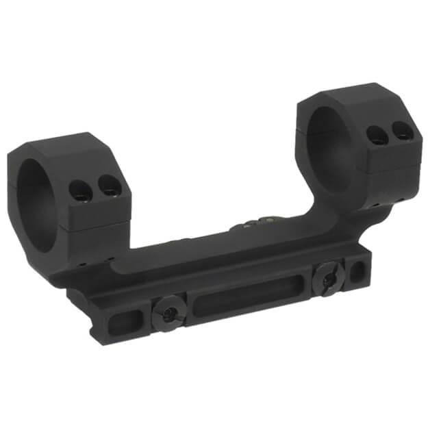 Midwest Industries 30MM Heavy Duty QD Scope Mount w/Zero Offset - Black