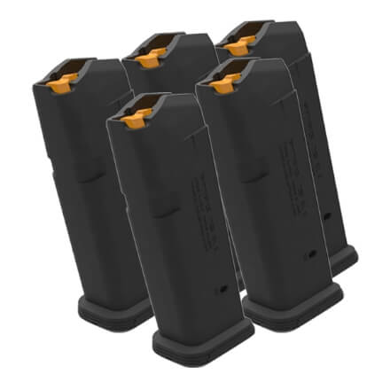 MAGPUL PMAG 9MM Glock 19 Magazine - 5 Pack