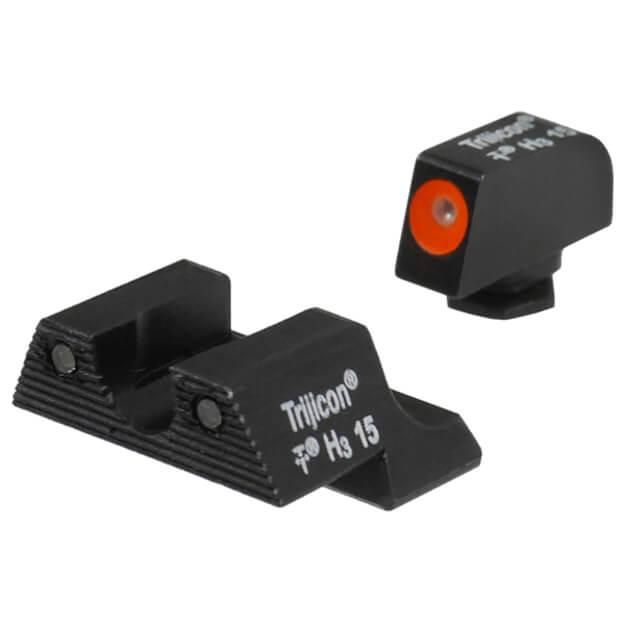 Trijicon HD Night Sight Set Orange Front Outline - Glock 42/43