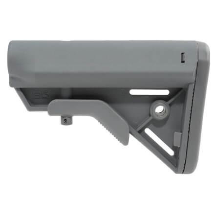 B5 Systems Bravo Buttstock Milspec - Grey