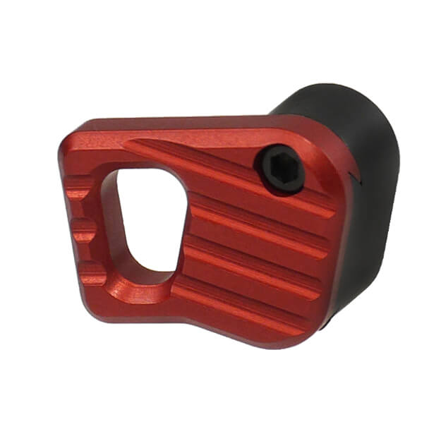 Battle Arms Enhanced Modular Magazine Release Medium - Anodized Red