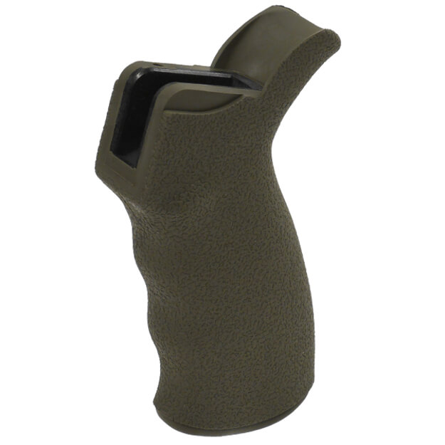 ERGO Heavy Texture Suregrip AR15 Ambi Grip - Olive Drab Green