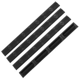 ERGO M-LOK WedgeLok Slot Cover Grips 4 Pack - Black