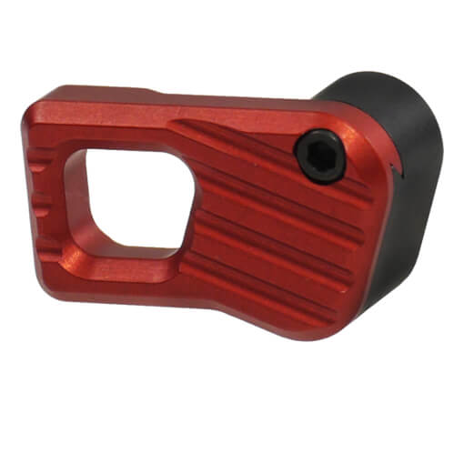 Battle Arms Enhanced Modular Magazine Release Large - Anodized Red