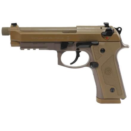 Beretta M9A3 9MM Pistol w/Threaded Barrel & 3 17rd Magazines FDE