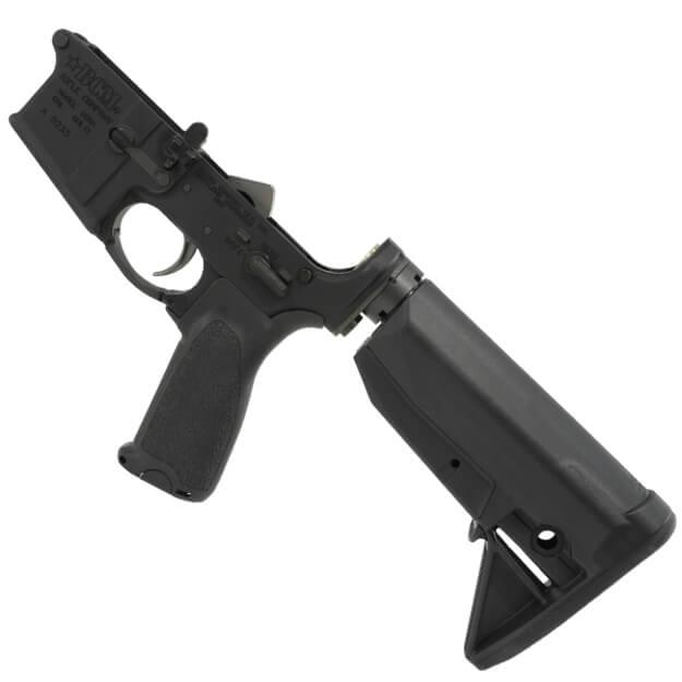 BCM Lower Receiver Group Mod 0 w/BCM Gunfighter Stock - Black