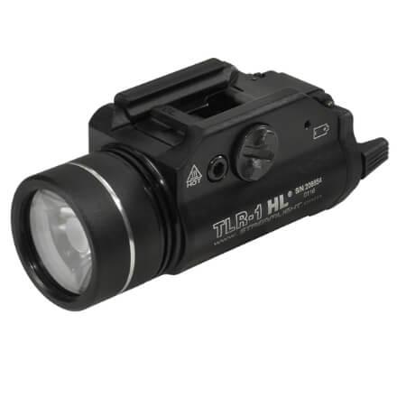 Streamlight TLR-1 HL 1,000 Lumen Weapon Light - Black
