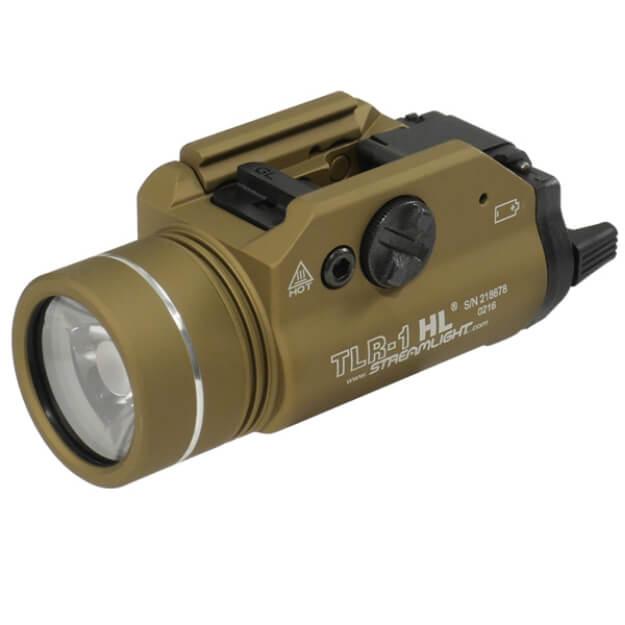 Streamlight TLR-1 HL 1,000 Lumen Weapon Light - Dark Earth