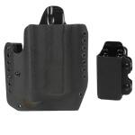DSG Alpha Gen3 Light Holster w/CDC-M Mag Carrier Right Hand