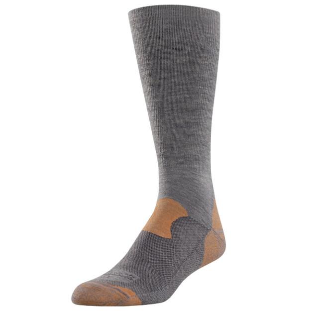 Danner Lightweight Hiker Crew Sock - Grey/Rust