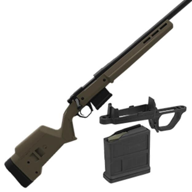 Magpul Hunter 700 SA Stock w/ Magwell - Olive Drab Green