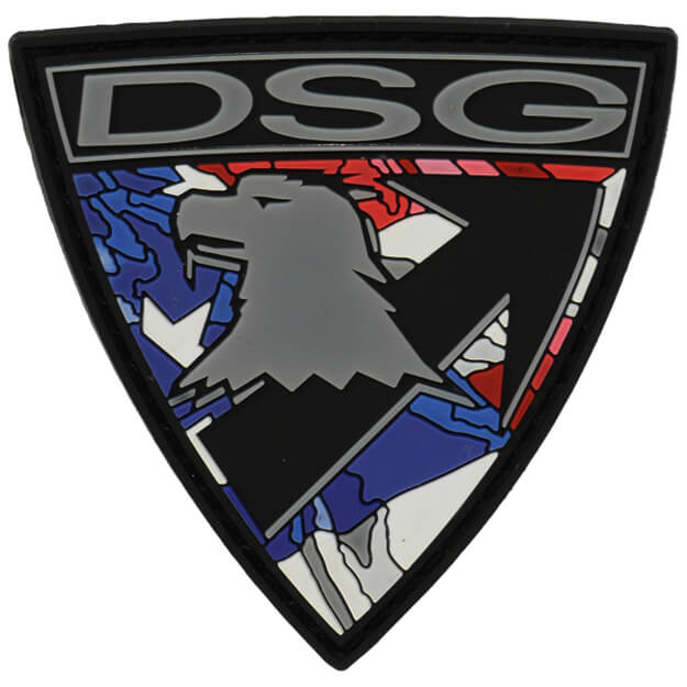 DSG Badge PVC Patch - American Flag
