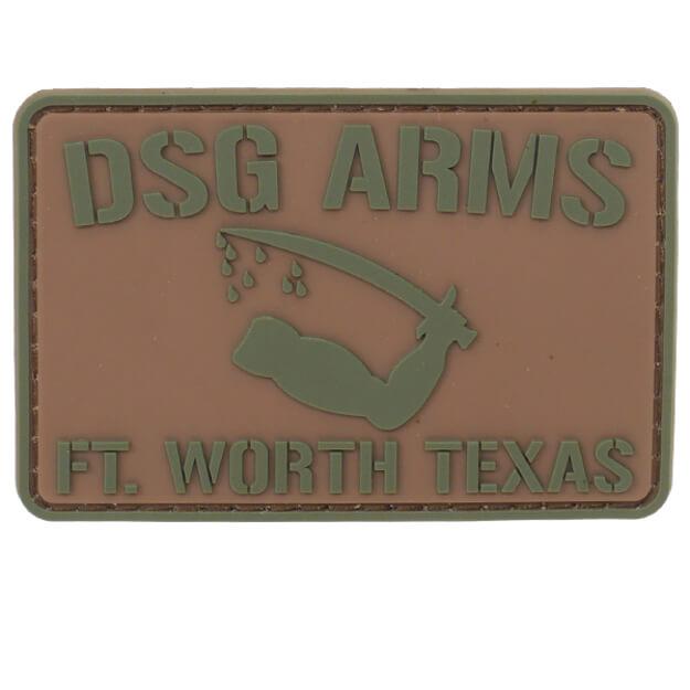 DSG Arms Goliad Flag PVC Patch - Olive Drab Green/Tan
