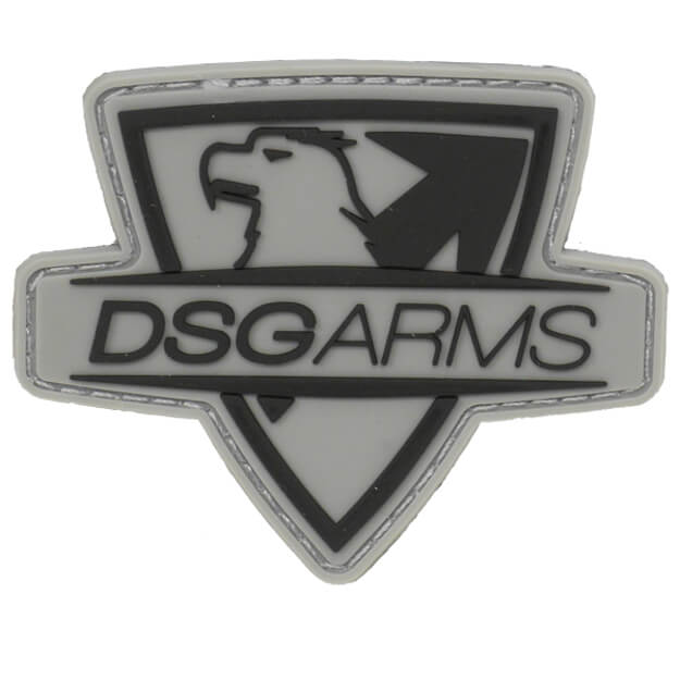 DSG Cut Thru PVC Patch - Grey/Black